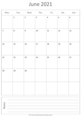 Free Printable Calendar Templates 2020, 2021